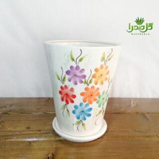 گلدان سرامیک شیک در تولیدی گل صحرا