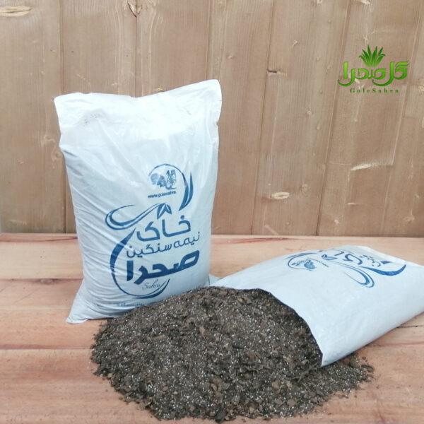 خاک نیمه سنگین بهترین کیفیت تولید گل صحرا