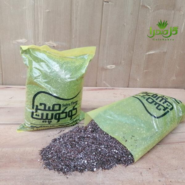 کوکوپیت بهترین کیفیت در تولیدی گل صحرا