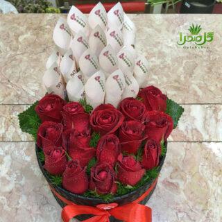 باکس گل زیبا در گل صحرا
