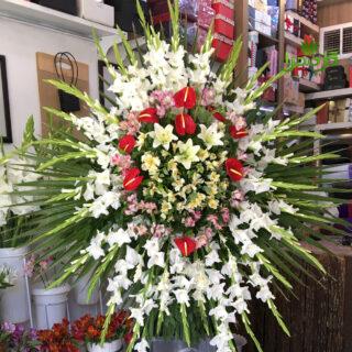 سفارش گل برای مراسم ختم ارسال محدوده نجف آباد